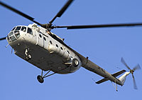 Helicopter-DataBase Photo ID:4517 Mi-8MT unknown 3X-HLC cn:94744