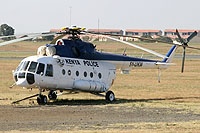 Helicopter-DataBase Photo ID:6328 Mi-17-1V National Police Service 5Y-UKW cn:404M02
