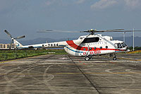 Helicopter-DataBase Photo ID:16096 Mi-171C Qingdao Helicopter Aviation Company B-7834 cn:171C00156084207U