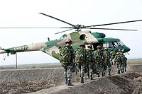 Helicopter-DataBase Photo ID:14537 Mi-171E People's Liberation Army Army LH93732 cn:171E00156127105U