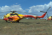 Helicopter-DataBase Photo ID:15951 Mi-171C Heli Sky EX-08025 cn:171C00066432108U