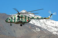 Helicopter-DataBase Photo ID:16238 Mi-8MT Kyrghyztan Air Force 106 black