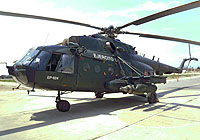 Helicopter-DataBase Photo ID:8023 Mi-17-1V (upgrade by Peru 1) Peruvian Army EP-624 cn:520M09