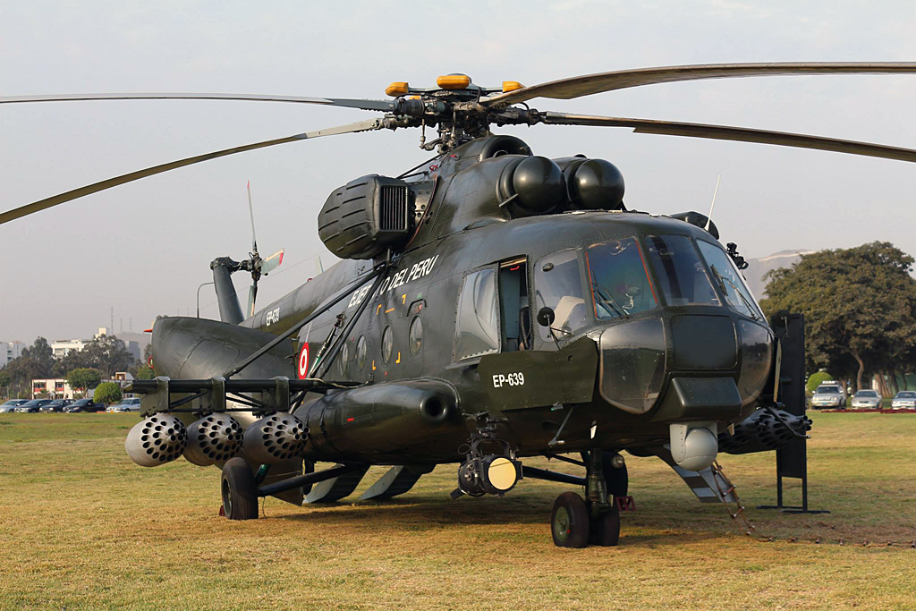 Mi-17-1V (upgrade by Peru)   EP-639