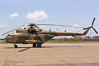 Helicopter-DataBase Photo ID:14356 Mi-171E Chad Air Force TT-OAZ cn:171E00146105209U