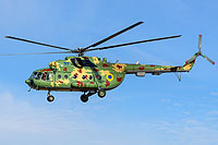 Helicopter-DataBase Photo ID:16306 Mi-8MT Ukrainian Air Force 37 blue
