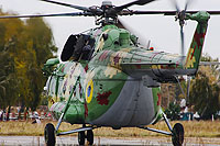 Helicopter-DataBase Photo ID:16308 Mi-8MT Ukrainian Air Force 37 blue