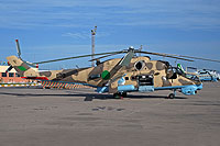 Helicopter-DataBase Photo ID:16124 Mi-35 Libyan Air Force 863 cn:280863