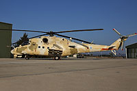 Helicopter-DataBase Photo ID:16606 Mi-35P Cyprus National Guard Air Wing 813 cn:023364
