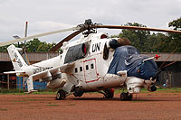 Helicopter-DataBase Photo ID:16095 Mi-24V (upgrade for Senegal) United Nations 6W-HCA cn:730708