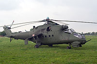 Helicopter-DataBase Photo ID:15701 Mi-24D (upgrade by WZL-1) 56th Army Aviation Base 457 cn:410457