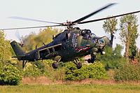 Helicopter-DataBase Photo ID:14495 Mi-24V (upgrade by WZL-1) 56th Army Aviation Base 739 cn:410739