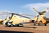 Helicopter-DataBase Photo ID:14350 Mi-35 Chad Air Force TT-OAR