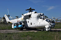 Helicopter-DataBase Photo ID:14127 Mi-24K Ukrainian Army Aviation 12 red