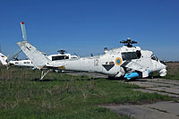 Helicopter-DataBase Photo ID:14129 Mi-24K Ukrainian Army Aviation 12 red