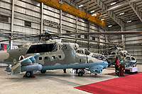Helicopter-DataBase Photo ID:16243 Mi-24V Afghan National Army Air Force 125