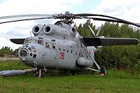 Helicopter-DataBase Photo ID:13933 Mi-6VKP Museum Monino 39 red cn:0454