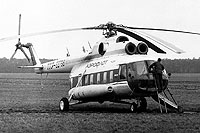 Helicopter-DataBase Photo ID:1005 Mi-8PS Soviet Air Force (AFL c/s) CCCP-22798 cn:8681