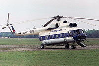 Helicopter-DataBase Photo ID:1135 Mi-8PS Soviet Air Force (AFL c/s) CCCP-25198 cn:8612