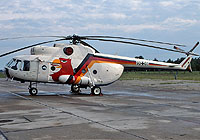 Helicopter-DataBase Photo ID:4703 Mi-8T Lufttransportgruppe Brandenburg-Briest 93+03 cn:10511