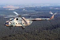Helicopter-DataBase Photo ID:6683 Mi-8T Lufttransportgruppe Brandenburg-Briest 93+30 cn:10510