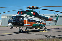Helicopter-DataBase Photo ID:14491 Mi-8T Border Guard Aviation Group ES-PMD cn:10595