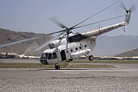 Helicopter-DataBase Photo ID:16599 Mi-8T Saemes EX-40014 cn:10720