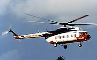 Helicopter-DataBase Photo ID:132 Mi-8PS Malta Air Ccharter LZ-CAX cn:7666
