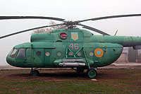 Helicopter-DataBase Photo ID:13939 Mi-8T unknown 46 red