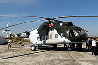 Helicopter-DataBase Photo ID:16961 Mi-8PS Royal Cambodian Air Force MH-822