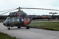 Helicopter-DataBase Photo ID:7686 PZL Mi-2 Lufttransportgruppe Brandenburg-Briest 94+62 cn:563147103 SAR Search and Rescue