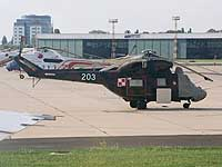 Helicopter-DataBase Photo ID:610 PZL W-3 RR  Procjon Ministry of Defence 203 cn:300203