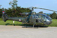 Helicopter-DataBase Photo ID:1724 HN-42 GAMA (SA 341H Gazelle) Serbia Air Force 12834 cn:078